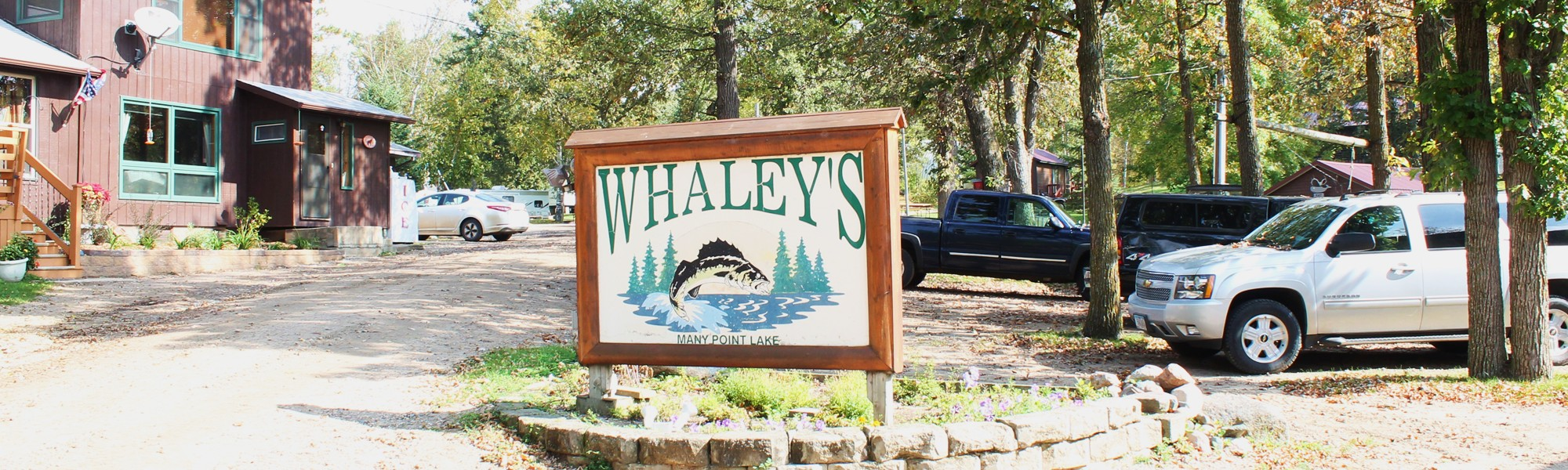 Whaley's Resort Sign