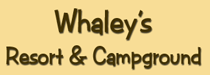 Whaley's Resort & Campground Logo